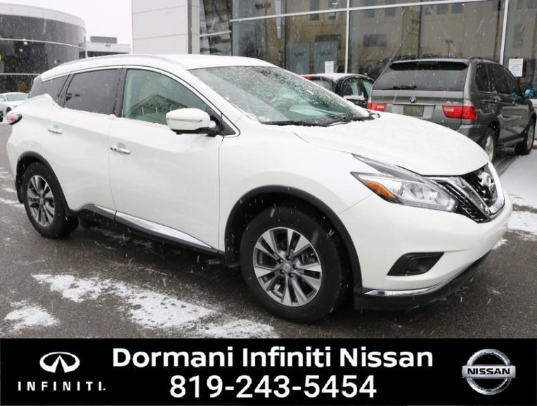 2015 Nissan Murano SL AWD, LEATHER, GPS, CERTIFIED NISSAN, RATE FROM 2.49%, 6 YEAR 120000KM WARRANTY