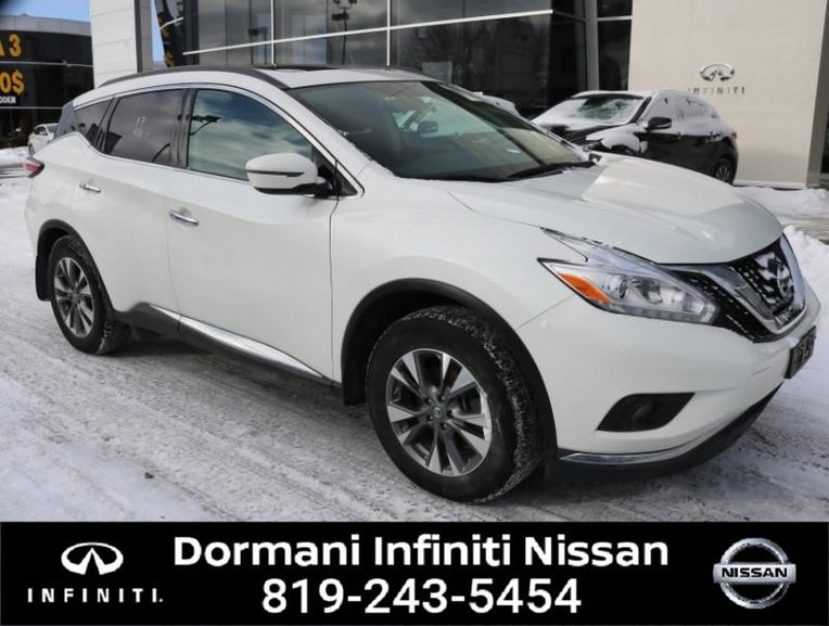 2017 Nissan Murano SV AWD. NISSAN CERTIFIED, RATE FROM 2.49%