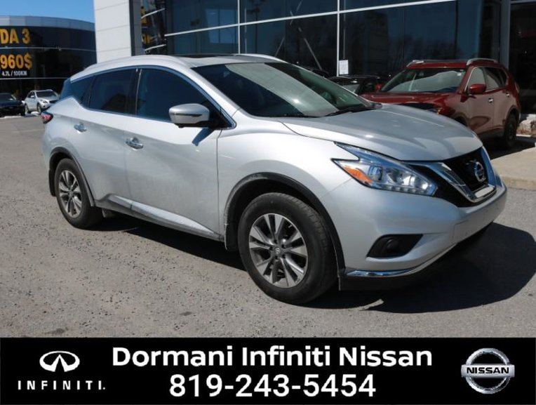 2017 Nissan Murano SL AWD, GPS, LEATHER, PANORAMIC