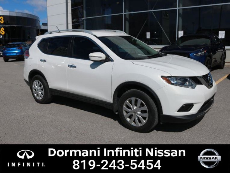 2014 Nissan Rogue S FWD, 4 CYL., CERTIFIED, GREAT DEAL