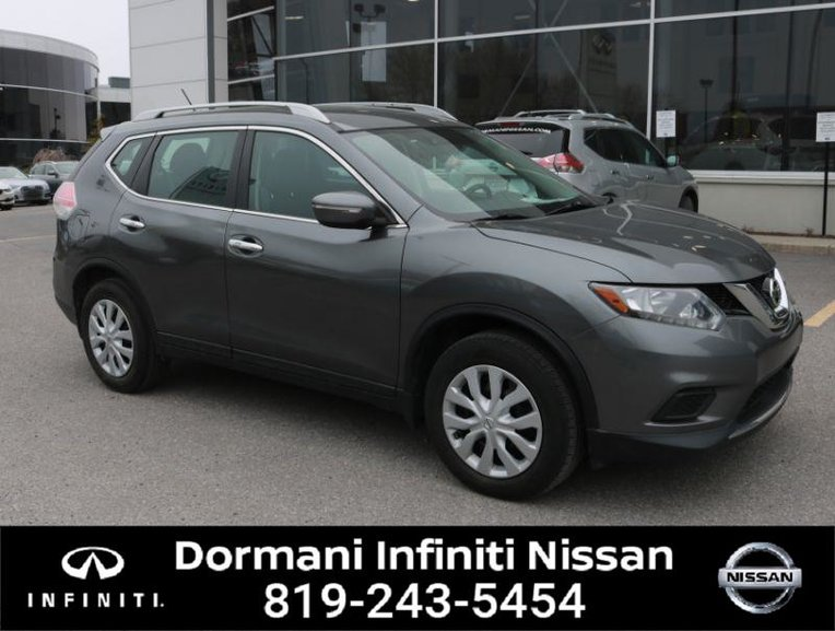 2014 Nissan Rogue S FWD, BLUETOOTH, USB, TRANCTION CONTROL, NO ACCIDENT