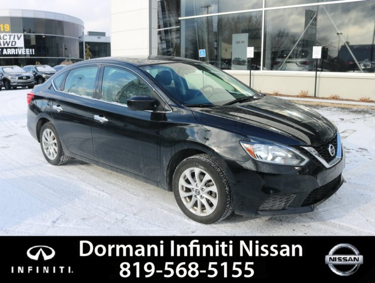 Dormani Nissan Gatineau Pre Owned 2016 Nissan Sentra Sv Roof For Sale In Gatineau