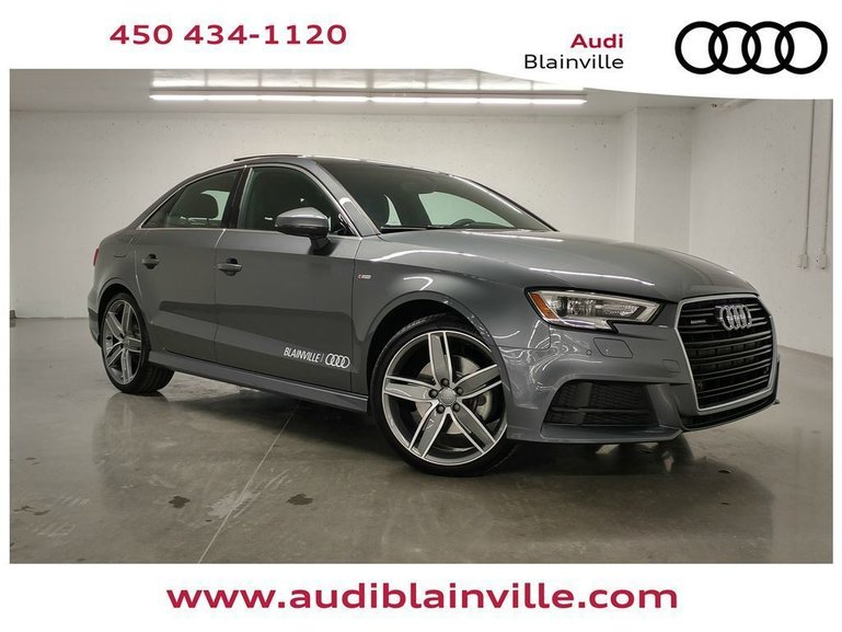 Groupe Lauzon Pre Owned 2018 Audi A3 20t Progressiv Quattro Demo