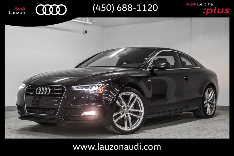 Audi A5 TECHNIK S-LINE AUDI EXCLUSIVE PACKAGE 2015