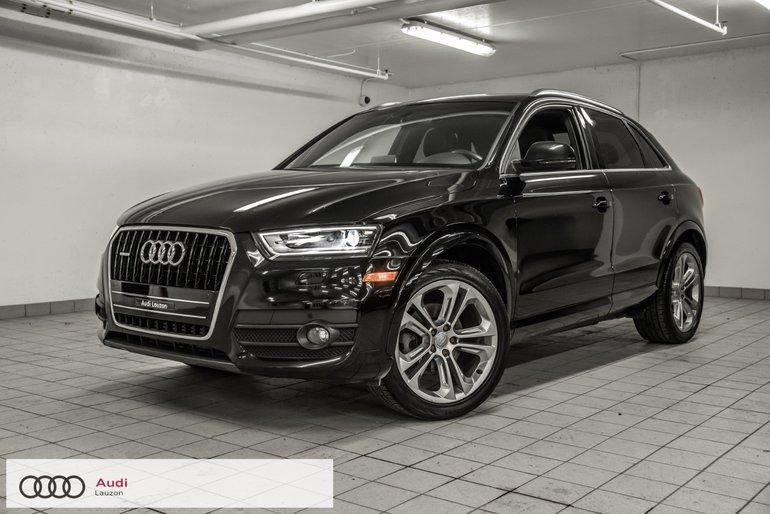 Audi Q3 TECHNIK S-LINE 2015