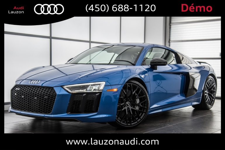 Audi Lauzon New 2018 R8 Coupe V10 Plus 84175 For Sale In Laval
