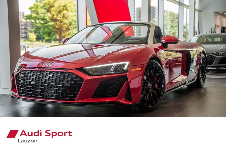Audi Lauzon New 2020 R8 Spyder V10 L0011 For Sale In Laval