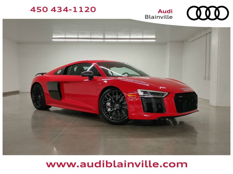 Audi Blainville New 2018 R8 Coupe V10 Plus 80713 For Sale