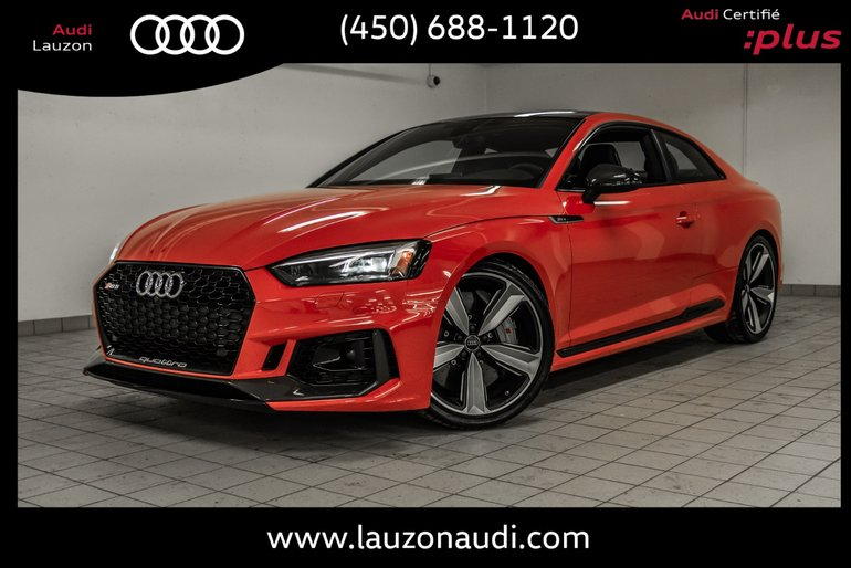 2018 Audi RS 5 CERAMIC BRAKE, AUDI SPORT, ADVANCE DRIVER, CARBON,