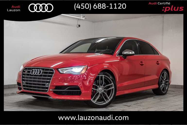 Audi S3 TECHNIK, MAGNETIC, LED 2015