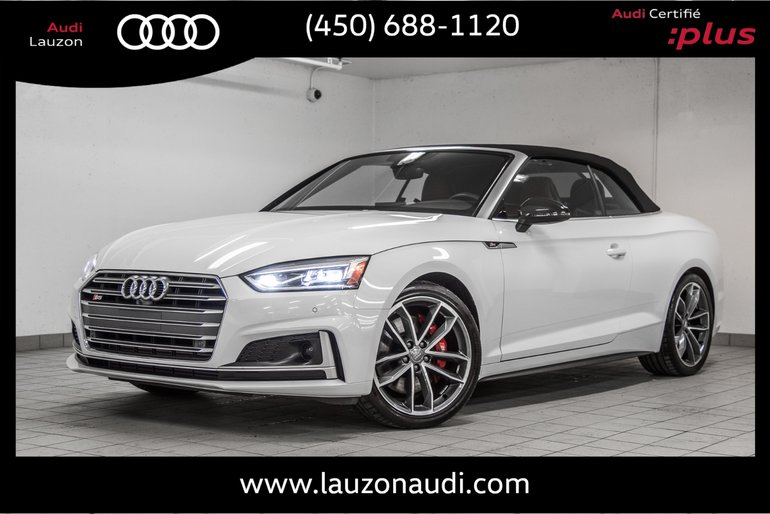 2018 Audi S5 CABRIOLET TECHNIK ADVANCED SUSPENSION RED CALIPER
