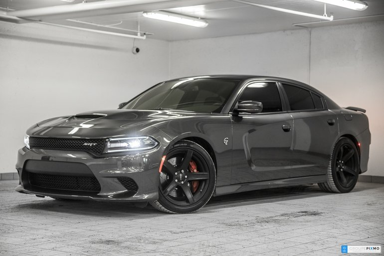 Audi Lauzon Pre Owned 2017 Dodge Charger Srt Hellcat For Sale In Laval