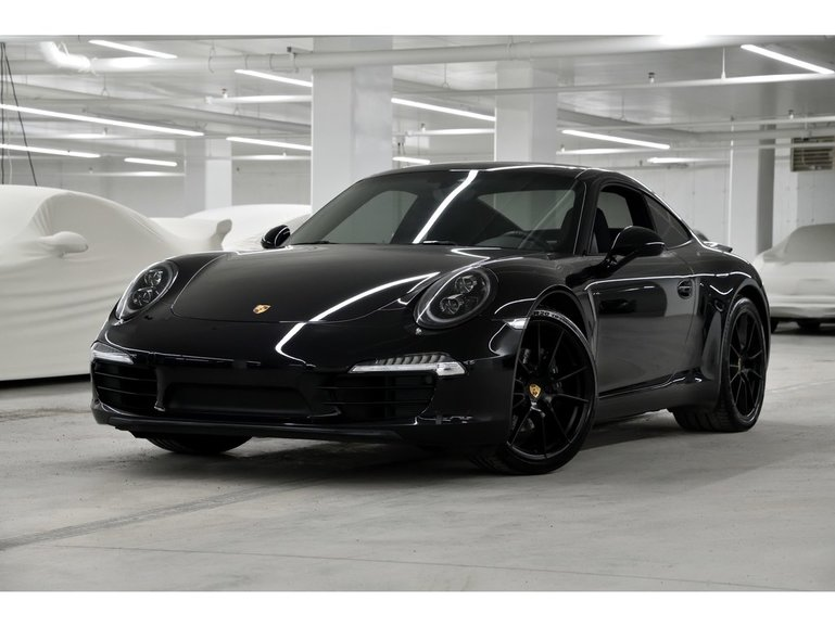 Porsche 911 Carrera Black Edition 2016