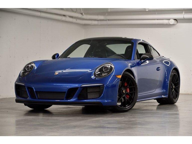 Porsche 911 Carrera 4 GTS DEMO 2018