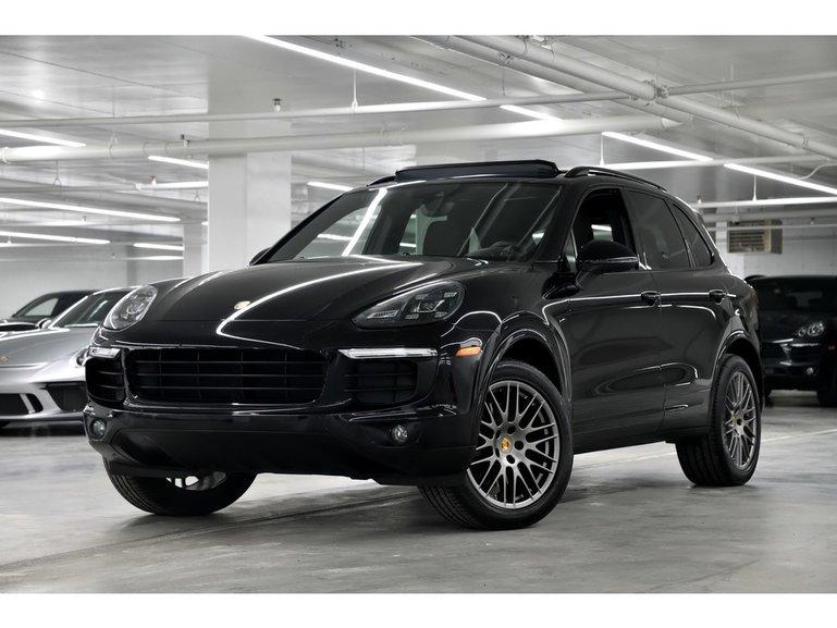 Porsche Cayenne A Vendre >> Groupe Lauzon Pre Owned 2018 Porsche Cayenne Platinum