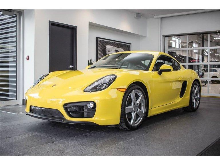 Porsche Cayman BOSE Premium Pack 2015