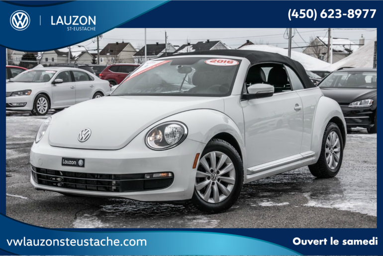 Volkswagen Beetle Convertible 1.8 TSI Trendline+ Cuir+Camera Recul+Bluetooth 2016