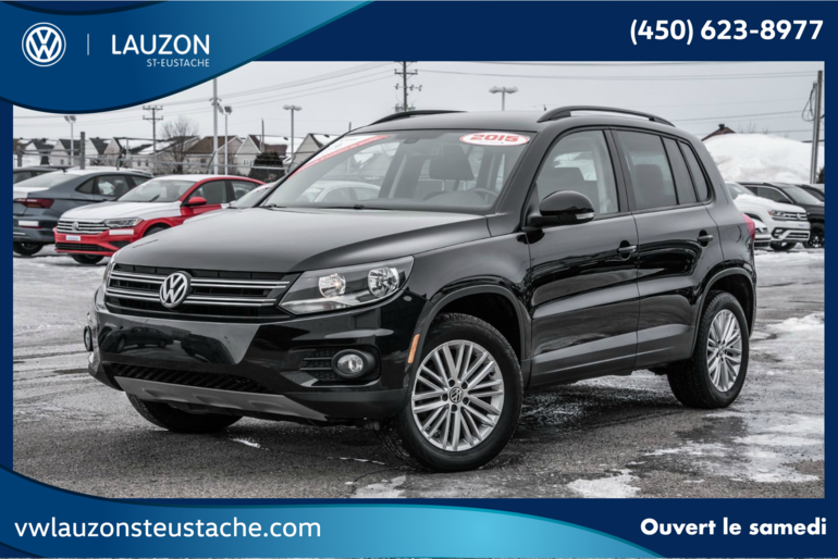 Volkswagen Tiguan Special Edition 4Motion+Mags+Navigation+Bluetooth 2015