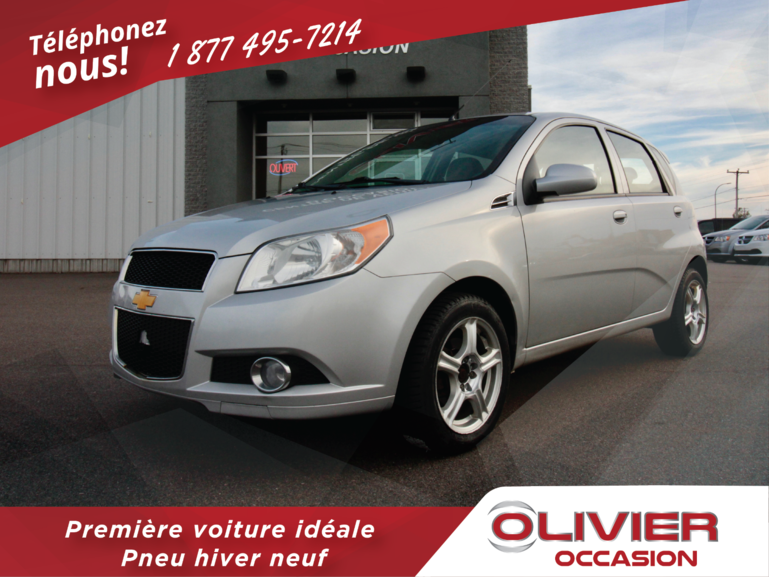 Olivier Occasion Baie Comeau Pre Owned 2011 Chevrolet Aveo Lt For
