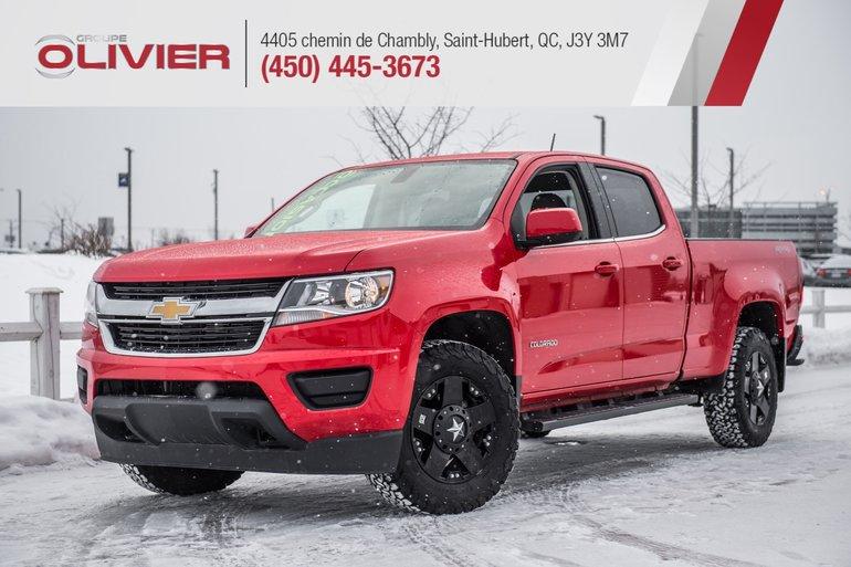 Chevrolet Colorado Work Truck 4X4 MAGS CAMÉRA BLUETOOTH A/C 2018
