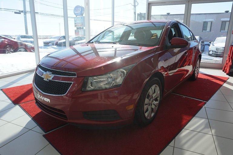 Chevrolet Cruze LT-UN SEUL PROPRIO-JAMAIS ACCIDENTÉ 2012