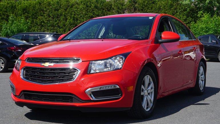 Chevrolet Cruze 1LT-TOUT ÉQUIPÉ-COMME NEUF-UNE SEULE PROPRIO 2015