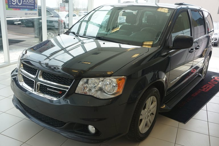 2013 Dodge Grand Caravan CREW-STOW AND GO-BLUETOOTH-MAGS-PORTE ELECTRIQUE