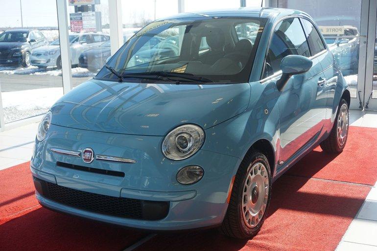 Fiat 500 POP-A/C-BLUETOOTH-CRUISE-GR.ÉLECT**LIQUIDATION** 2016