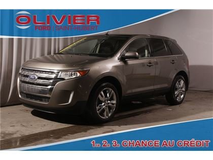 Ford Edge Limited AWD BLUETHOOT CUIR TOIT NAV MAGS 20 2013