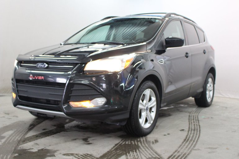 Ford Escape SE; commandes vocales; navigation 2014