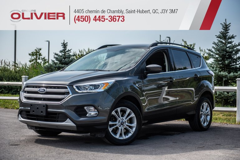 Ford Escape SE 4WD MAGS HITCH CAMÉRA NAV A/C 2017