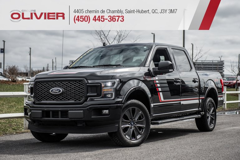 Groupe Olivier | Ford F-150 LARIAT 4X4 MAGS NAV CAMÉRA 360 CUIR TOIT