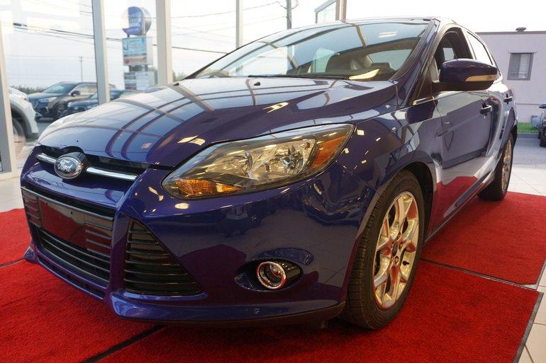 Ford Focus Titanium-NAVIGATION-CUIR-TOIT OUVRANT-BLUETOOTH 2013