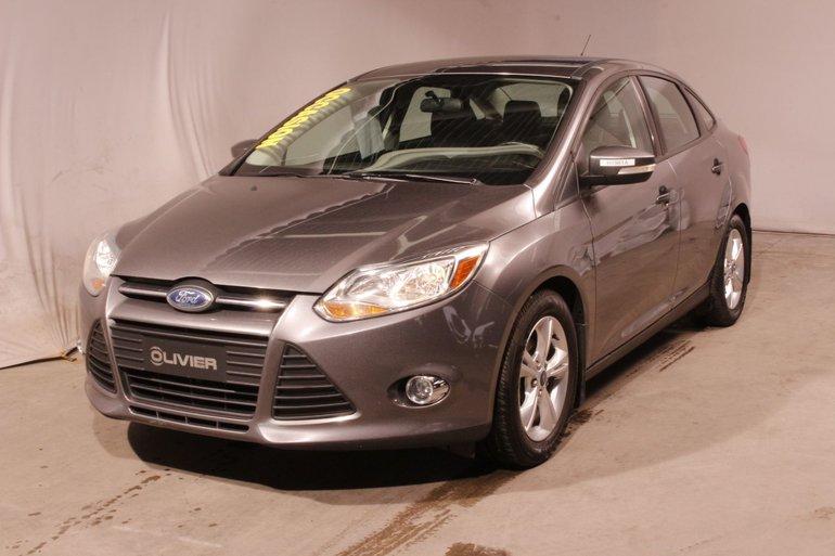 Ford Focus SE; sieges et retro chauffants; sport se; 2014