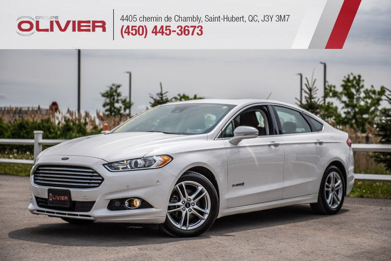 Olivier Ford Saint Hubert Pre Owned 2016 Ford Fusion