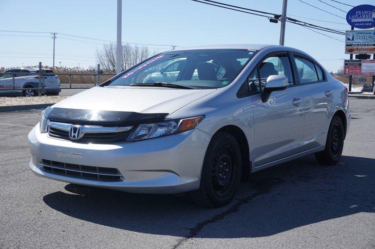 Honda Civic Sdn LX-BLUETOOTH-GR.ÉLECTRIQUE-A/C- 2012