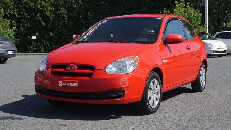 Hyundai Accent GL-TRÈS PROPRE POUR L'ANNÉE ET LE KILO 2010