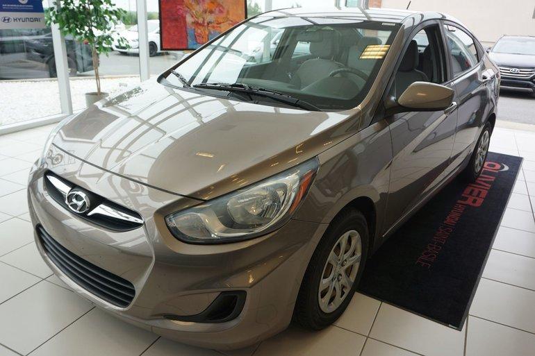 Hyundai Accent GL-UNE SEULE PROPRIO-A/C-GR.ÉLECTRIQUE 2012