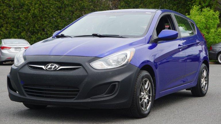 Hyundai Accent L-POUR PETIT BUDGET-VENDU TEL QUEL 2013