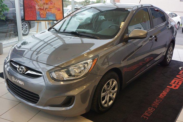 Hyundai Accent GL-A/C-BLUETOOTH-GARANTIE-CRUISE 2014