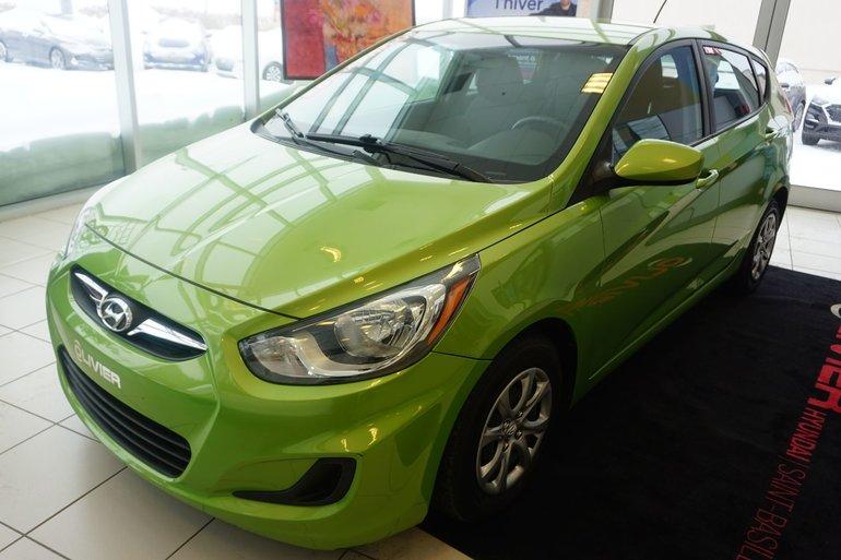 Hyundai Accent GL-BLUETOOTH-A/C-GR.ÉLECTRIQUE-BAS KILO 2014