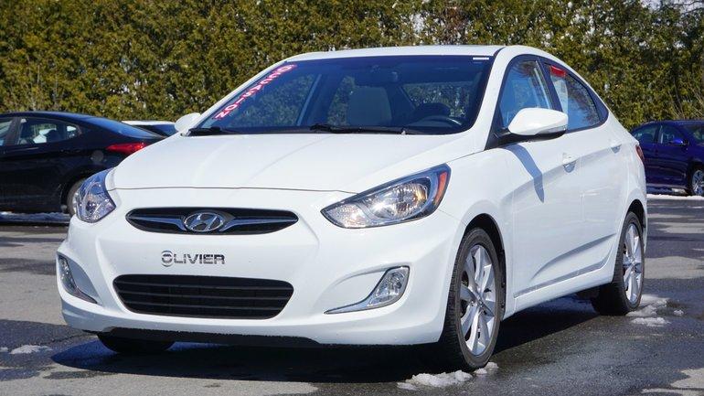 Hyundai Accent GLS-MAG-TOIT OUVRANT-BLUETOOTH-A/C 2014