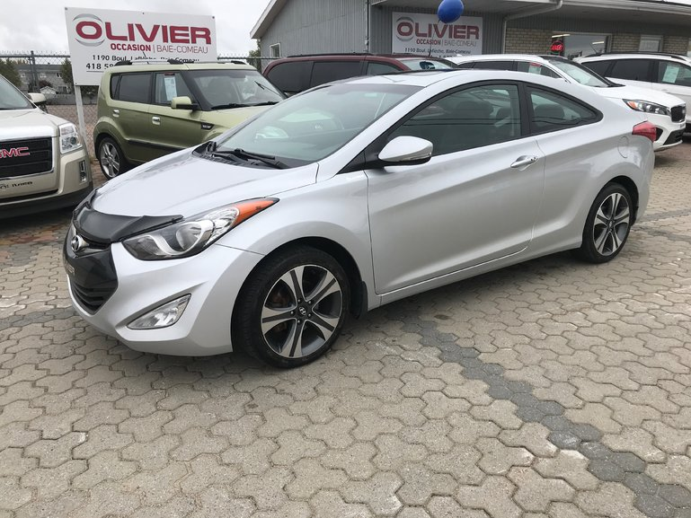 Olivier Occasion Baie Comeau Pre Owned 2013 Hyundai Elantra Coupe