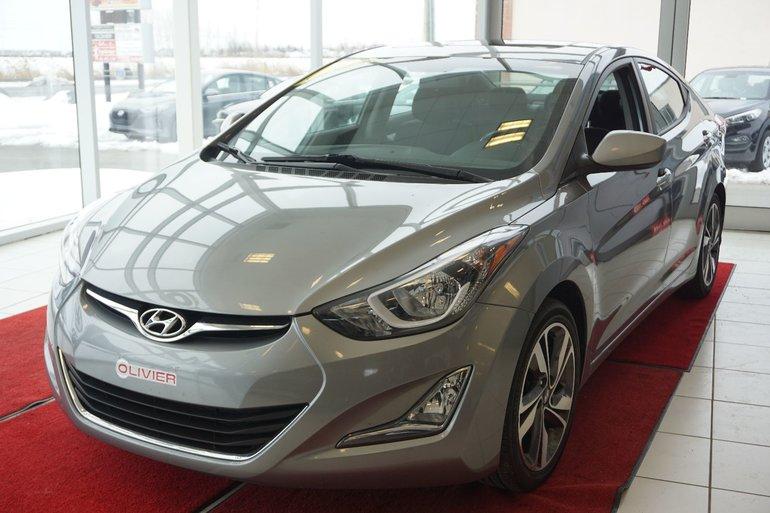 2015 Hyundai Elantra GLS-CAMÉRA-GARANTIE-BLUETOOTH
