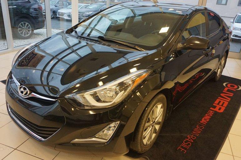 Hyundai Elantra SPORT-BLUETOOTH-TOIT OUVRANT-MAG 2015
