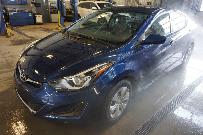 2016 Hyundai Elantra TOUT ÉQUIPÉ-TRÈS BAS KILO-GARANTIE