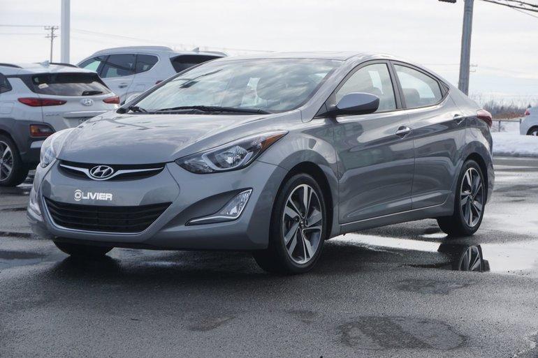 Hyundai Elantra GLS-BAS KILO-GARANTIE-TOUT ÉQUIPÉ 2016