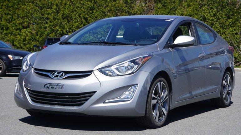 Hyundai Elantra GLS-CAMÉRA-BLUETOOTH-TOIT OUVRANT-MAG 2016