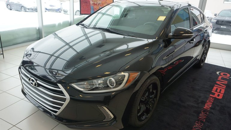 Hyundai Elantra GLS--TOIT-OUVRANT-MAG-CAMÉRA-BLUETOOTH-DÉMARREUR 2017