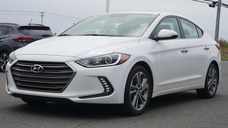 Hyundai Elantra LIMITED-CUIR-CAMÉRA-NAVIGATION-TOIT OUVRANT 2017